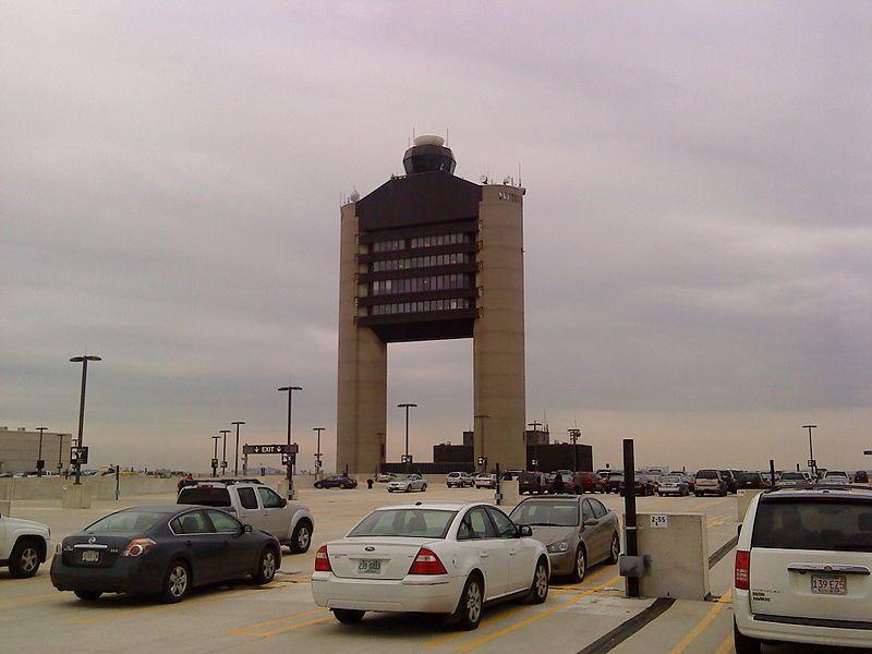 Boston Logan International Airport control tower