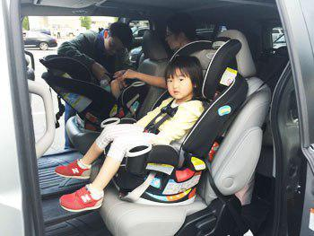 boston airport car service with child seat