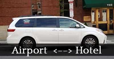 boston airport hotel car